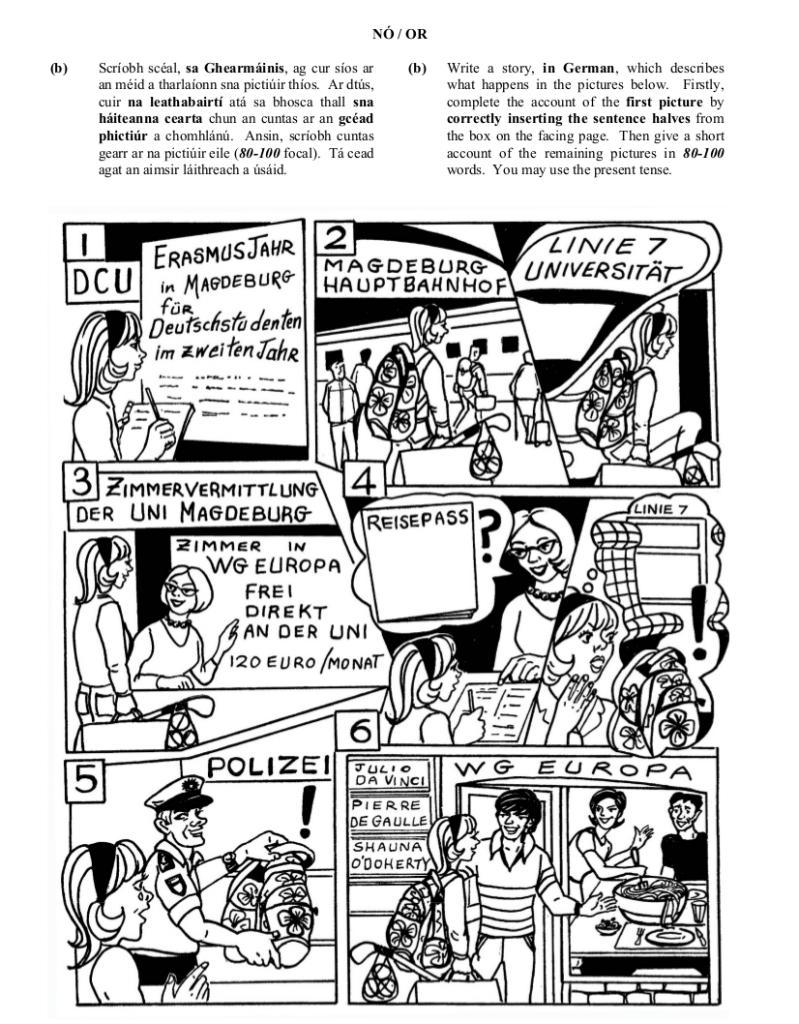 2010 LC Ordinary German Schriftliche Produktion
