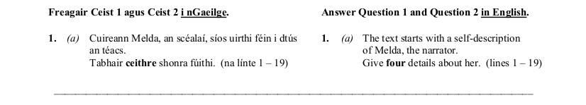 2011 LC Ordinary German Reading Comprehension 1