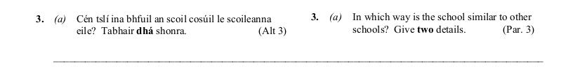 2011 LC Ordinary German Reading Comprehension 2