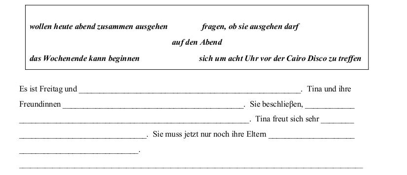 2012 LC Ordinary German Schriftliche Produktion